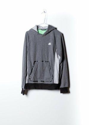 Adidas Damen Kapuzenpullover in Grau