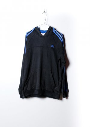 Adidas Damen Kapuzenpullover in Schwarz