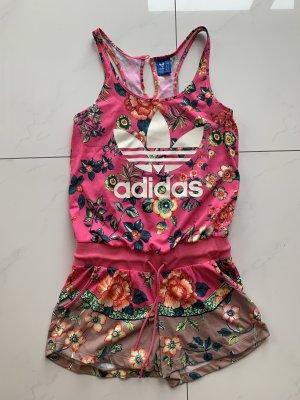 Adidas Capo da spiaggia rosa-bianco