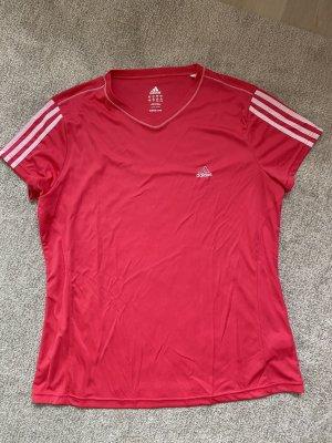 Adidas Camisa deportiva rojo frambuesa