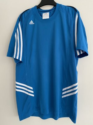 Adidas Damen T-Shirt blau Gr. S