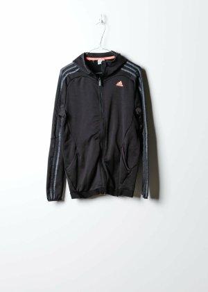 Adidas Damen Trainingsjacke in Schwarz