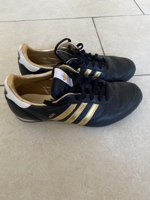 Adidas Lace-Up Sneaker black-gold-colored