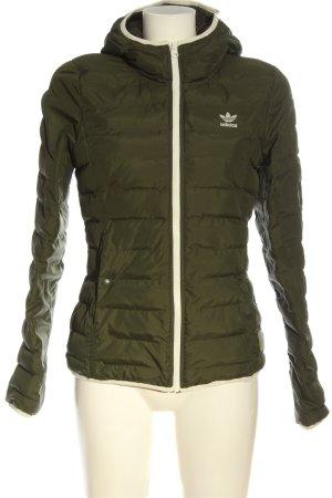 Adidas Kurtka puchowa khaki W stylu casual