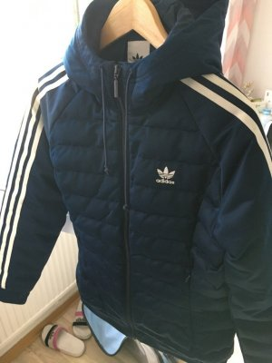 Adidas Down Jacket dark blue
