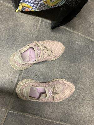 Adidas Sznurowane trampki różany
