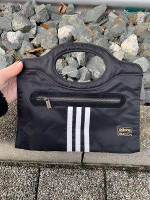 Adidas Dragon Tasche Clutch Brieftasche schwarz weiss
