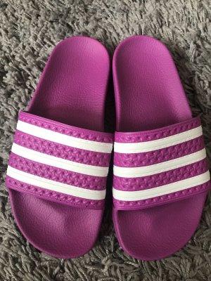 Adidas Stivale da casa lilla-bianco