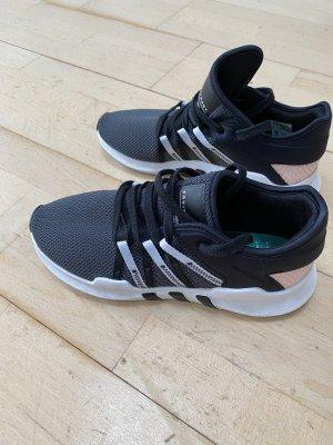 Adidas Sznurowane trampki czarny-różany