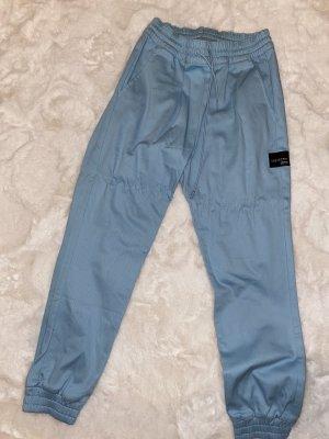 Adidas Originals Pantalón de cintura alta azul celeste-azul claro