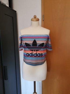 Adidas Top spalle scoperte multicolore