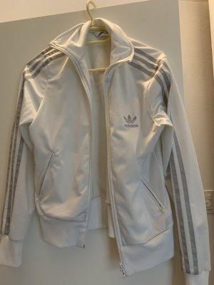 Adidas Firebird Jacke, weiss, Größe 38