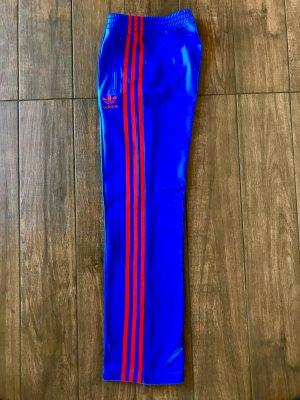 Adidas Originals Sportbroek neon blauw-rood Polyester