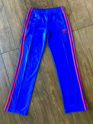 Adidas Originals pantalonera azul neón-rojo Poliéster