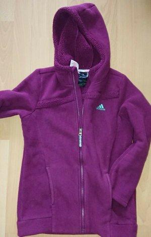 Adidas Kurtka polarowa fioletowy