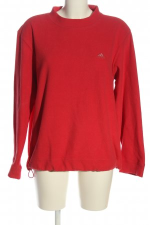Adidas Fleece Jumper red casual look