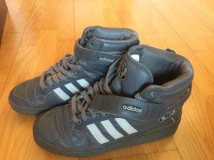Adidas Basket montante gris foncé