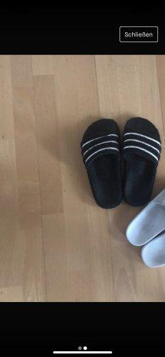 Adidas Sandalias de playa negro-blanco