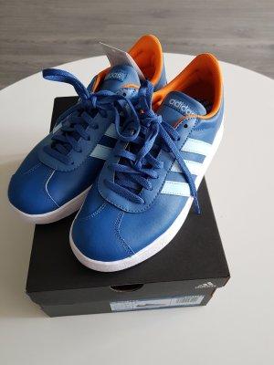 Adidas Skaterschoenen blauw-oranje