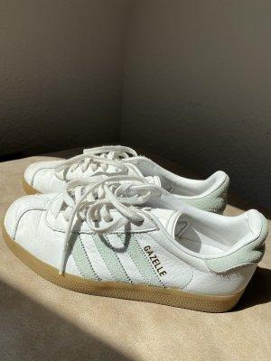 Adidas Gazelle Sneaker, Gr, 37 1/3, weiß-mint