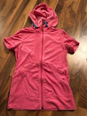 Adidas NEO Capuchon vest roze-petrol