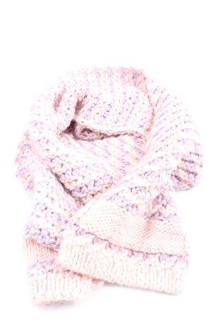 Adidas Crochet Scarf cream-lilac casual look