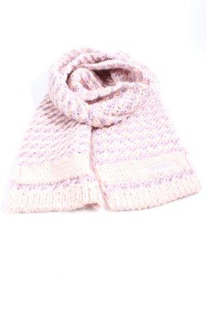 Adidas Szydełkowany szalik różowy-fiolet Melanżowy W stylu casual