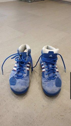 Adidas Zapatos de patinador azul celeste-azul acero