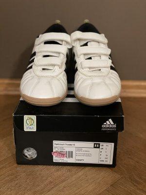 Adidas Instappers wit-zwart