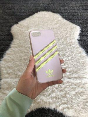 Adidas Carcasa para teléfono móvil beige claro-amarillo neón