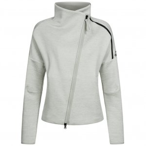 Adidas Sports Jacket light grey-black