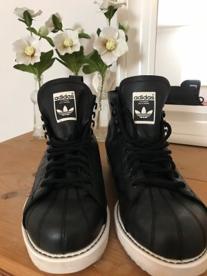 Adidas Originals Botas de invierno blanco-negro