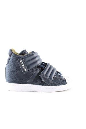 Adidas High Top Sneaker blau Casual-Look