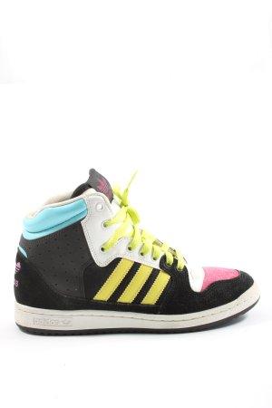 Adidas Sneaker alta multicolore stile casual