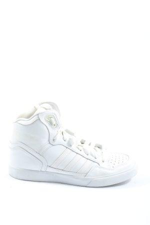 Adidas High Top Sneaker weiß Casual-Look