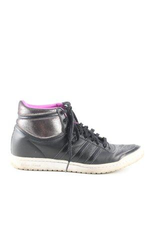 Adidas High Top Sneaker schwarz Casual-Look