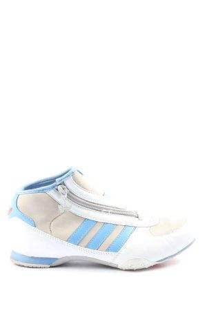 Adidas High Top Sneaker Schriftzug gestickt Casual-Look