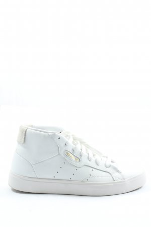 Adidas High Top Sneaker white casual look