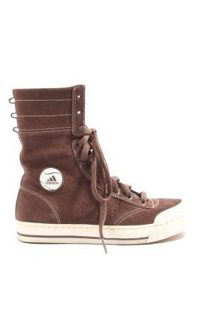 Adidas Wysokie trampki brązowy W stylu casual