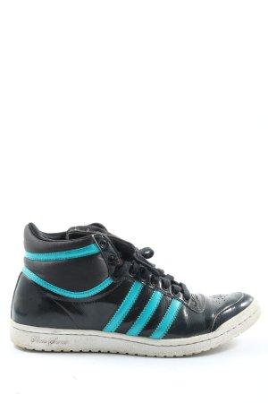 Adidas Wysokie trampki Nadruk z motywem W stylu casual