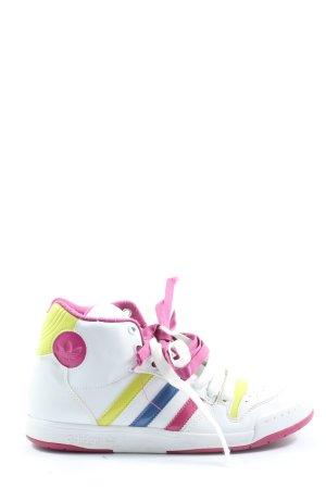 Adidas Wysokie trampki Wzór w paski W stylu casual