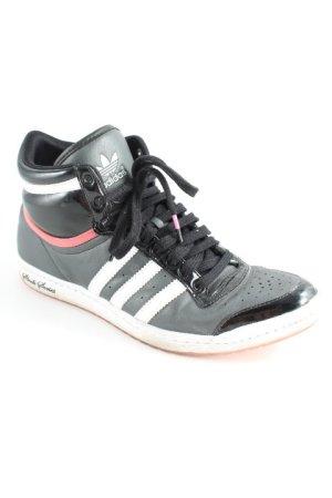 Adidas High Top Sneaker mehrfarbig sportlicher Stil