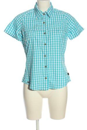 Adidas Lumberjack Shirt blue-white check pattern casual look