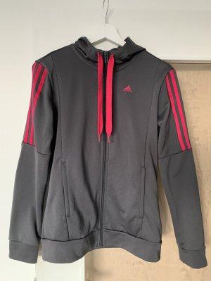 Adidas Tenue pour la maison gris-rouge framboise