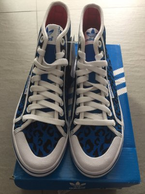 Adidas Honey Mid W Damen Sneakers Canvas Leopard, Größe 38, Neu