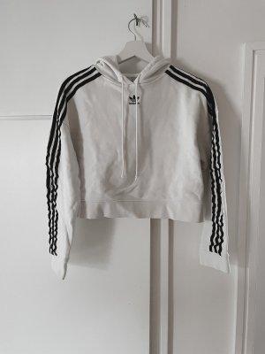 Adidas Sudadera de forro blanco