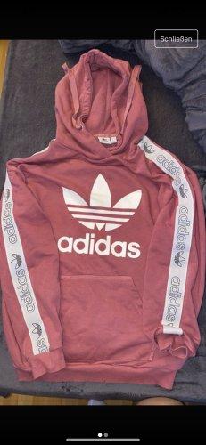 Adidas Originals Felpa con cappuccio rosa