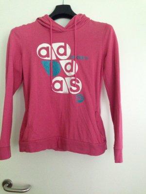 Adidas NEO Sweter z kapturem różowy-niebieski neonowy