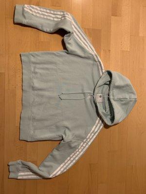 Adidas Capuchon sweater grijs-groen Katoen