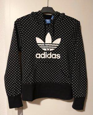 Adidas Sudadera con capucha negro